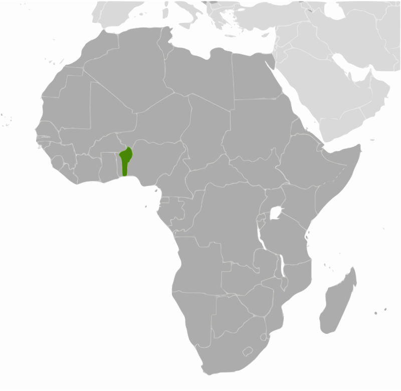 Benin location