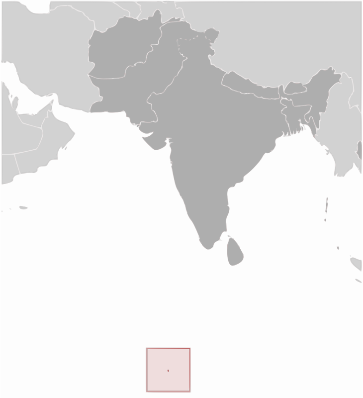 British Indian Ocean Territory location