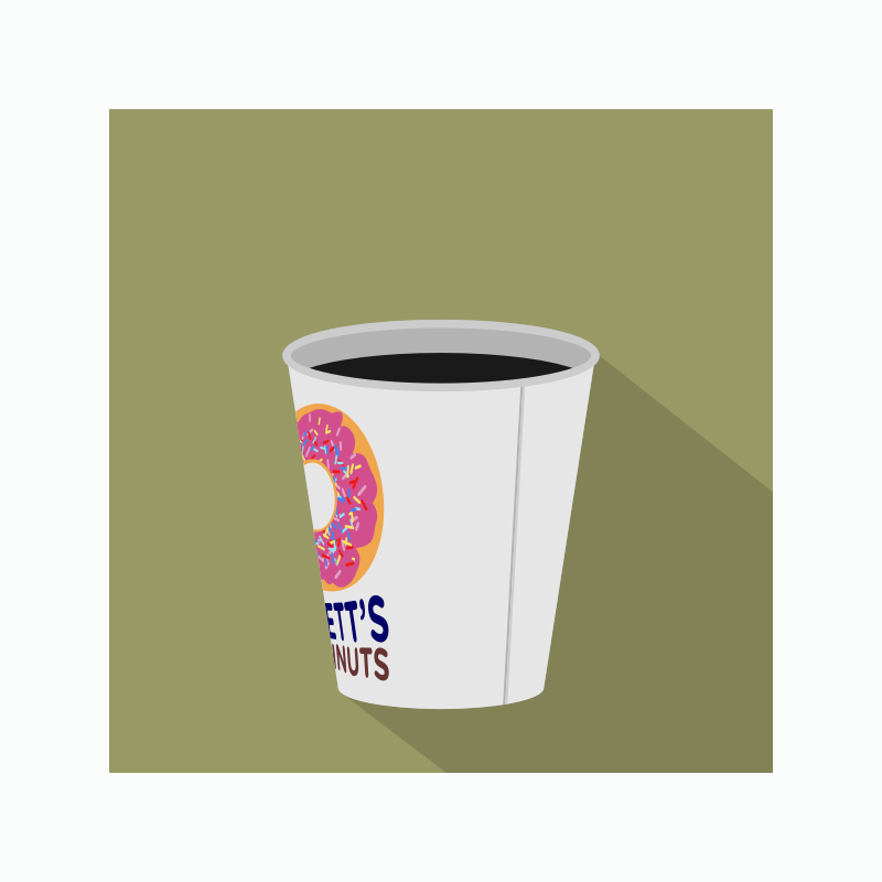 Doughnut Shop Coffee Icon