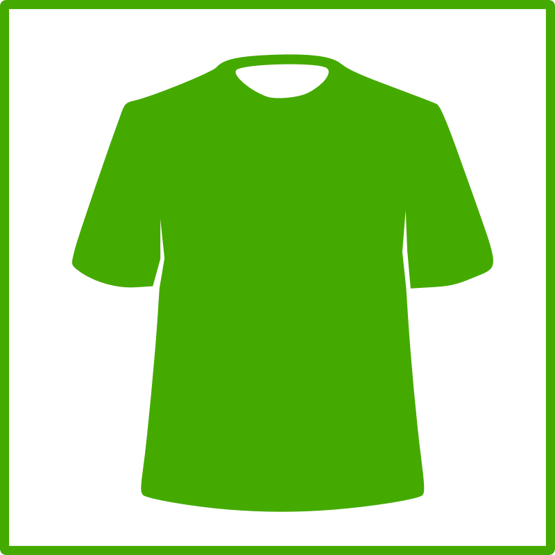 eco green clothing icon