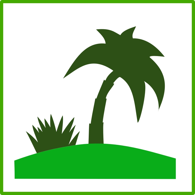 eco green tourism icon