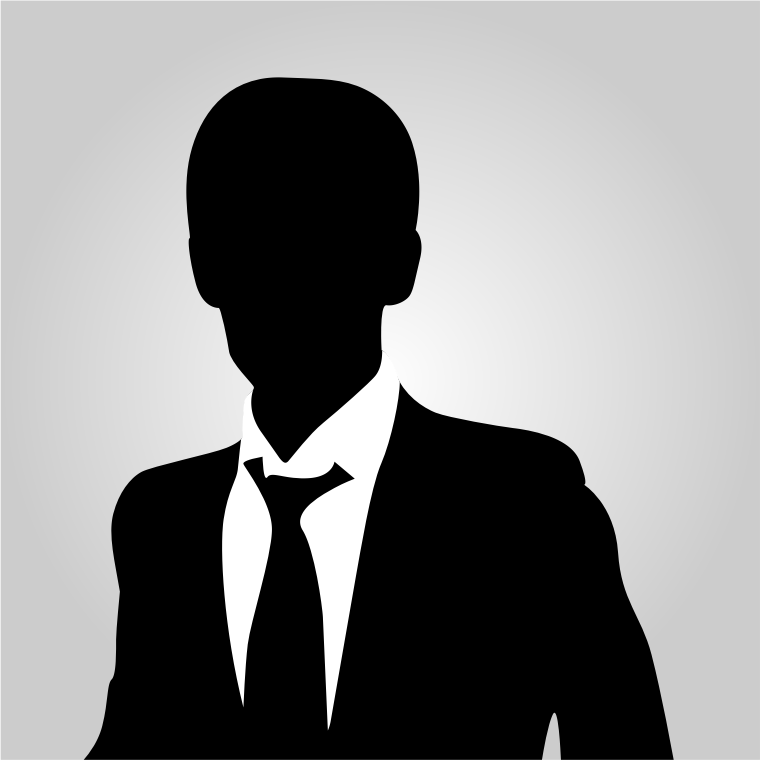Business man avatar vector