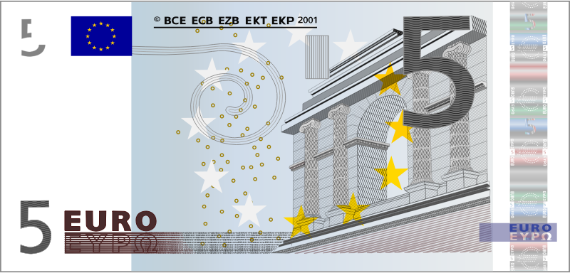 5 Euro Note