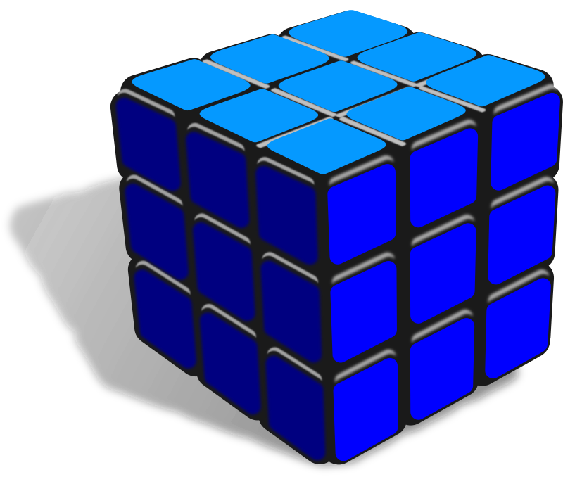 Cube one color