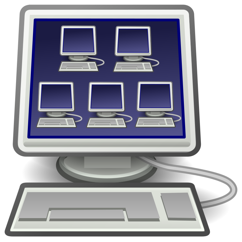 Virtualization Icon For Virtual Machines