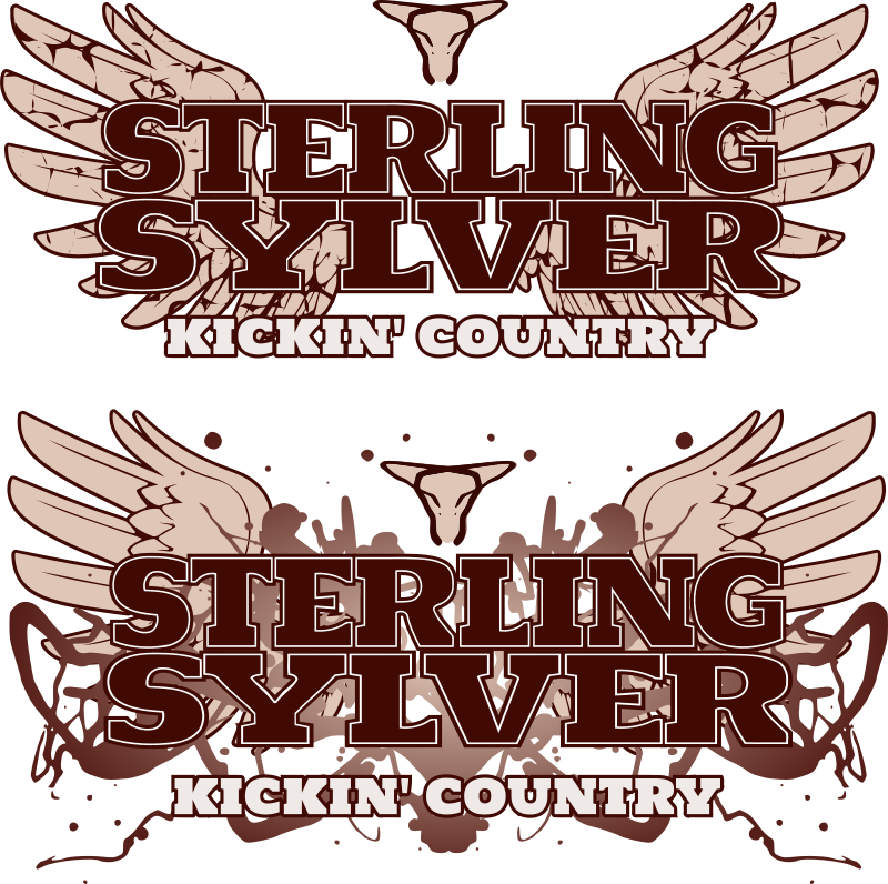 Country band logo