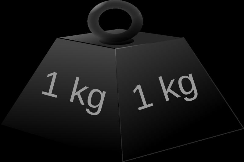 1kg weight