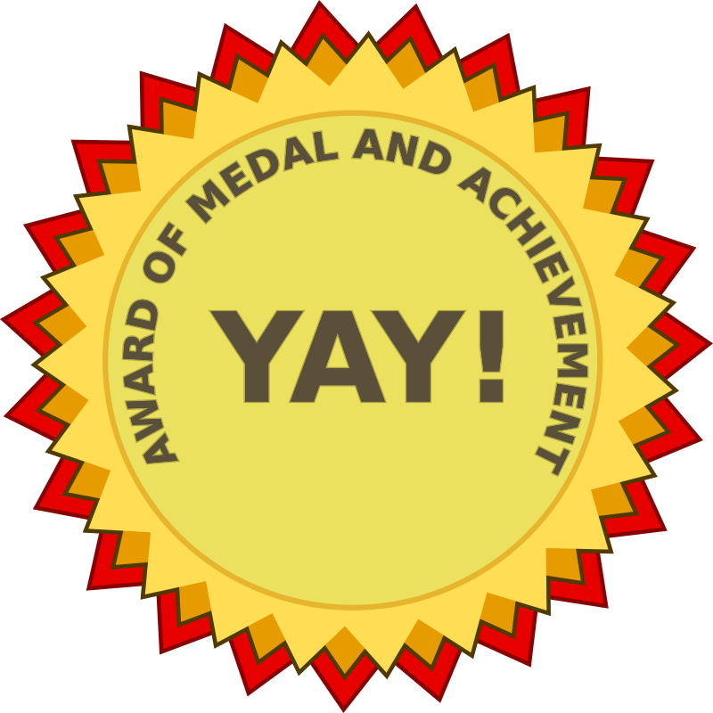 Award of Medal and Achievement (path text)