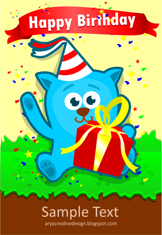 Card birthday template