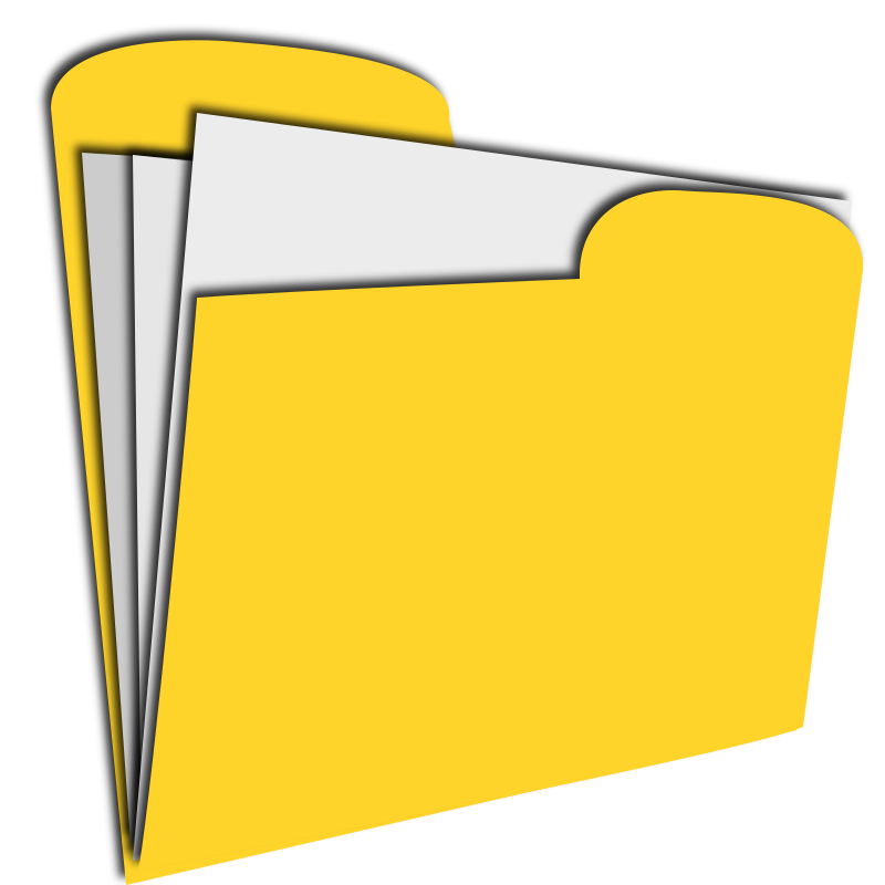 yellow document