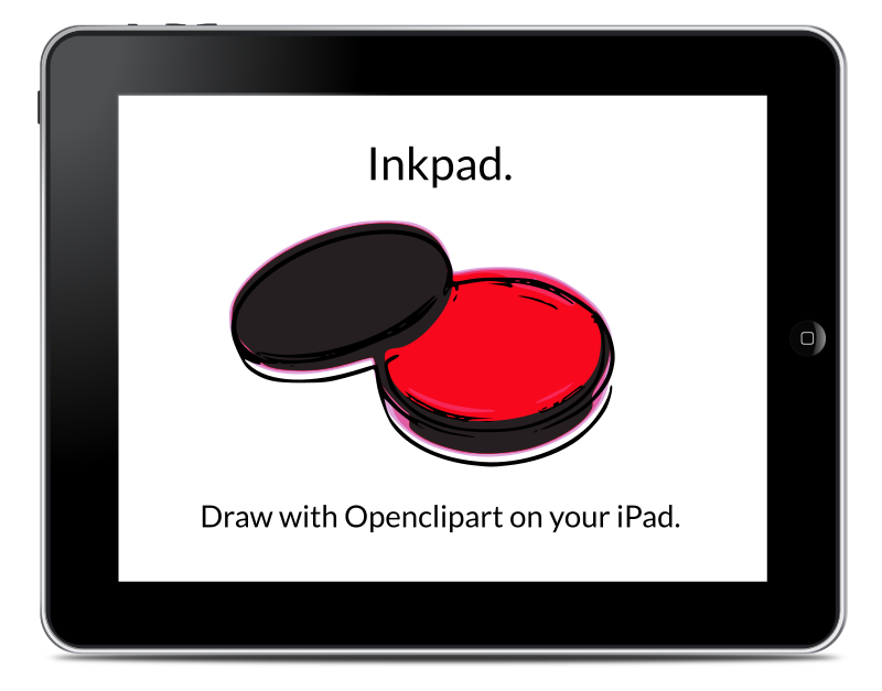 Draw with Openclipart on your iPad using Inkpad.