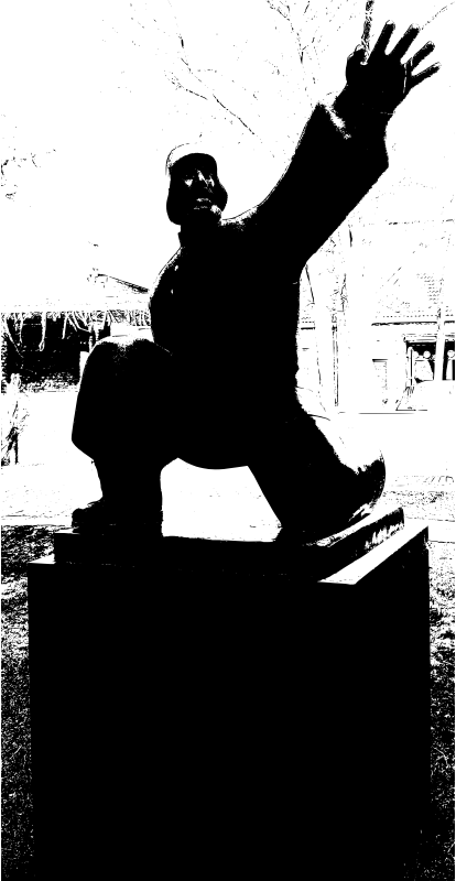 Chinese Soldier Sculpture
