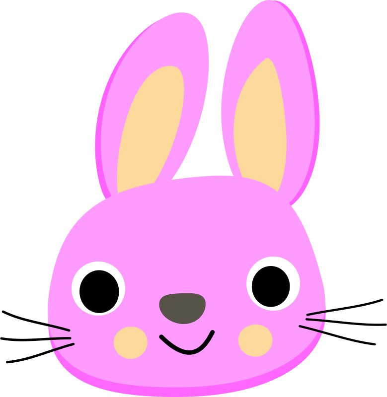Pink rabbit - Lapin rose