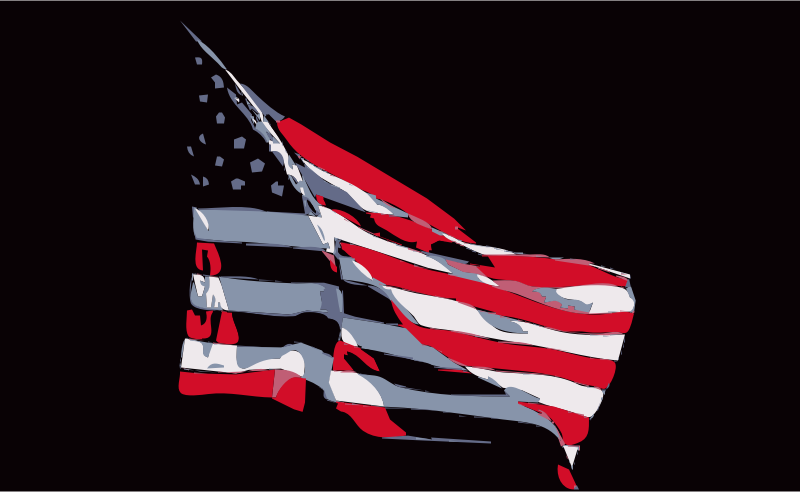REQUEST: United States Flag in Wind