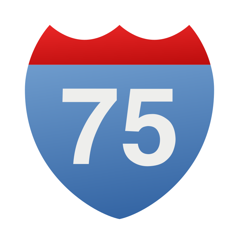 Interstate 75 icon