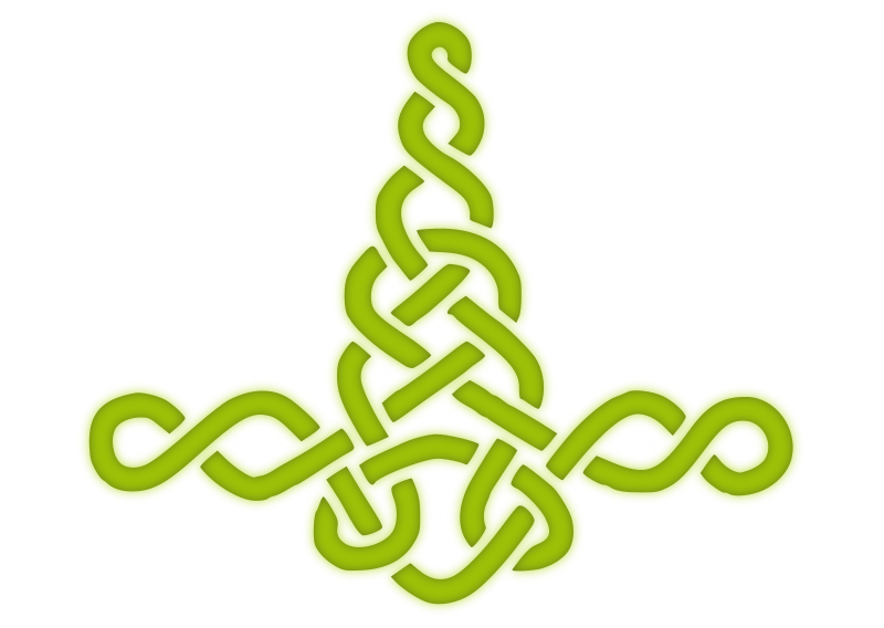 Mjolnir Knotwork Green
