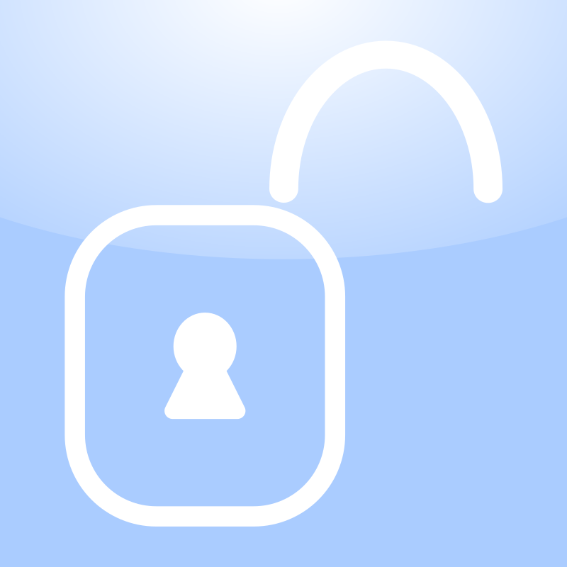 Unlocked Lock Icon