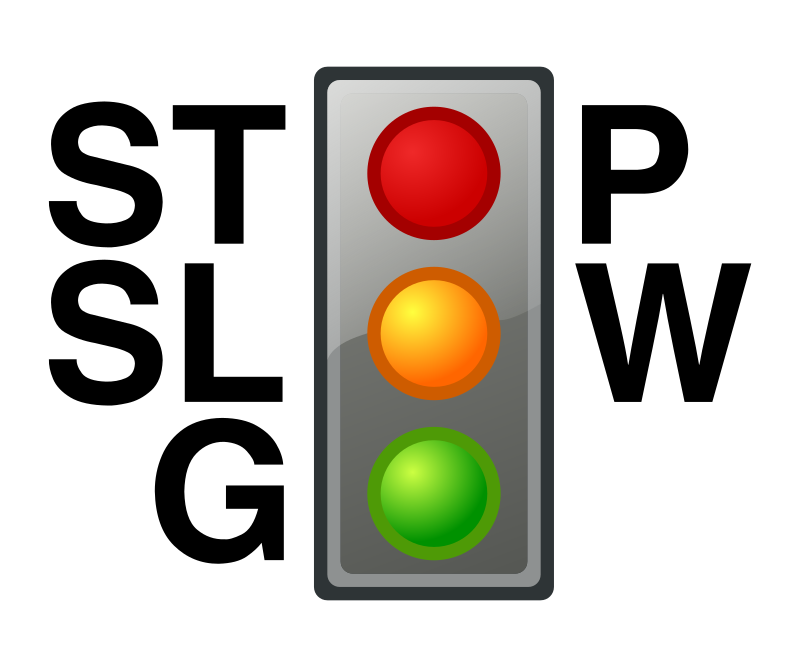 Meaning of the traffic lights