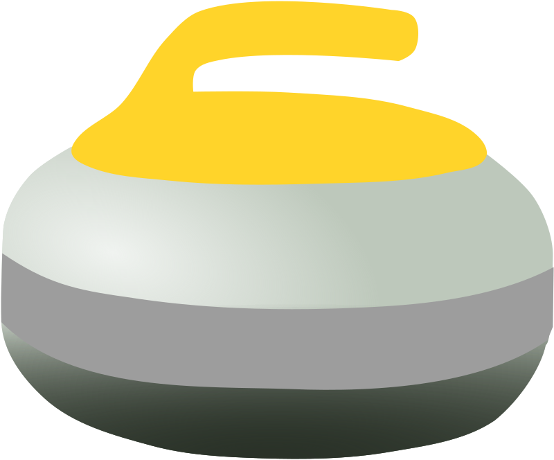 Yellow Curling Rock