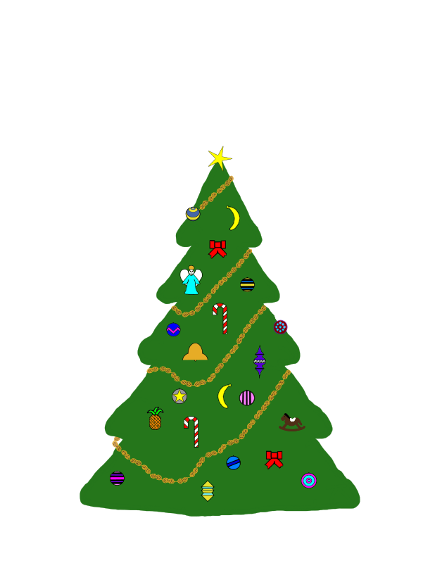 Christmas Tree for Monkeys