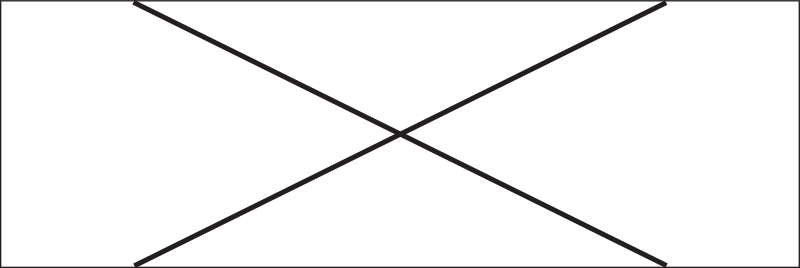 Unconnected Wire Crossing Triple Block