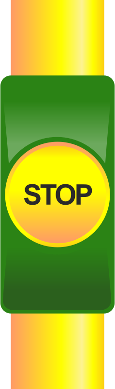 Public transport stop button