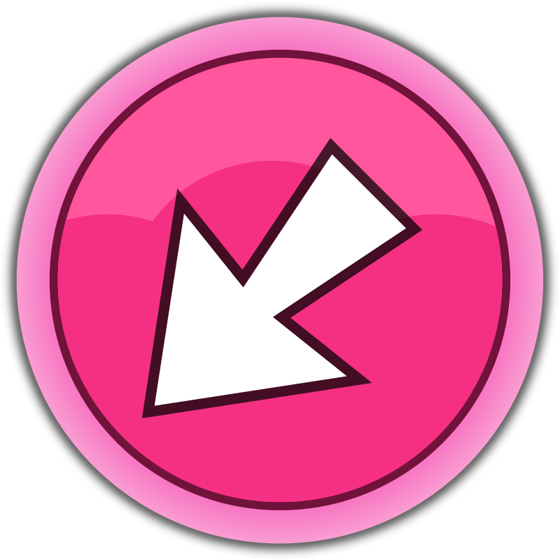 pink arrow back