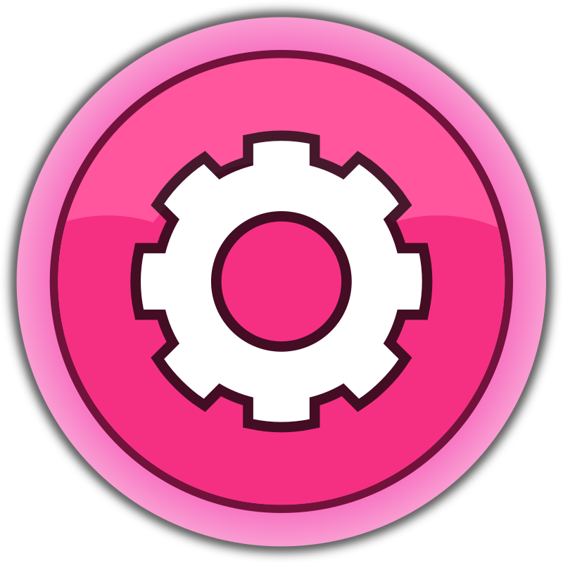 pink button settings