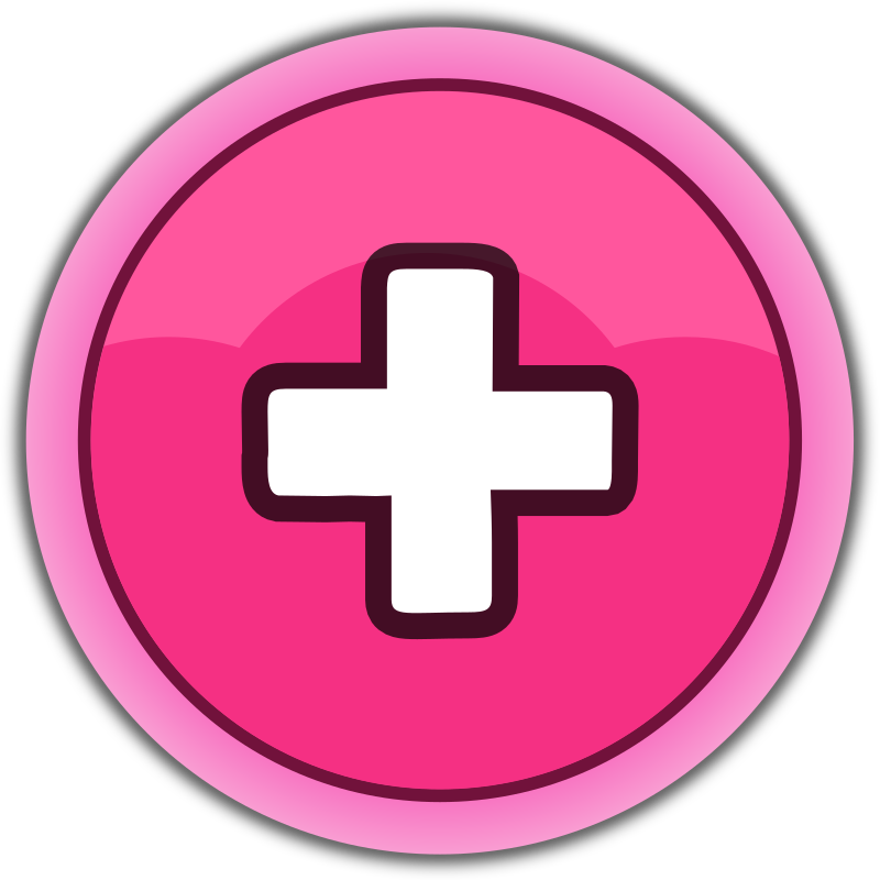 pink button plus