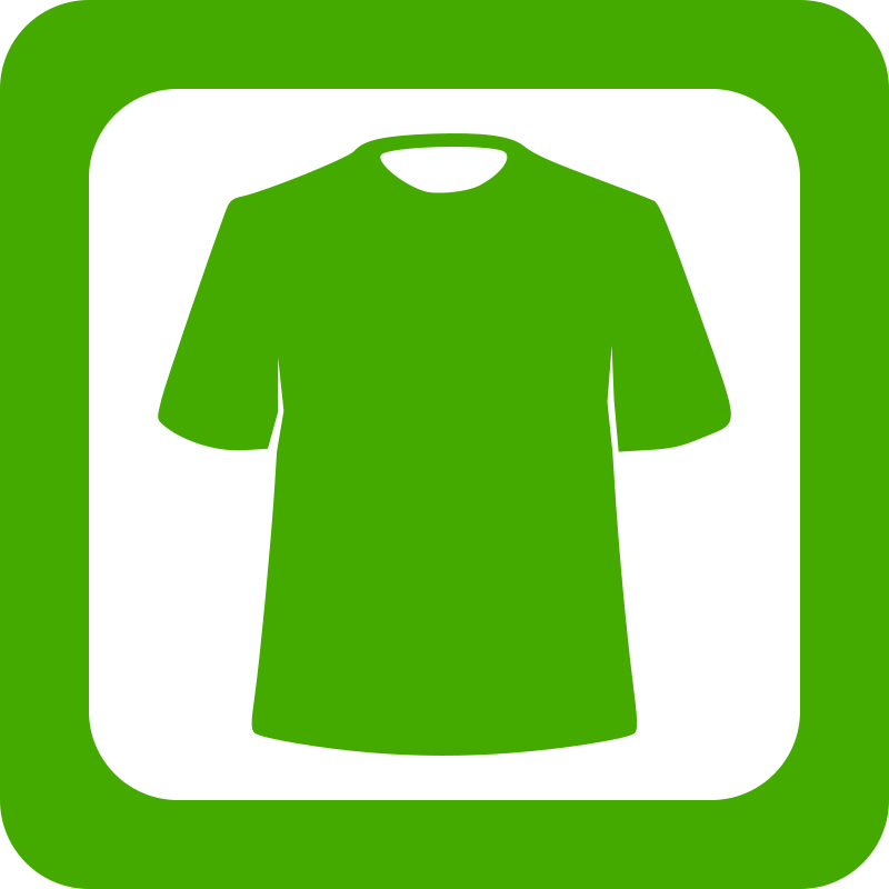 Green Clothing Icon