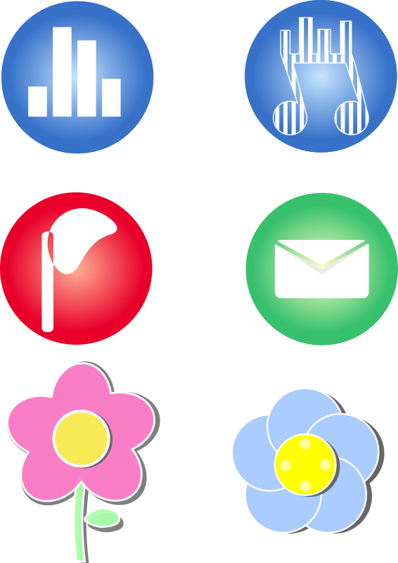 Icons for cellphone