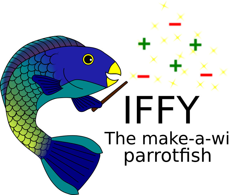 Iffy, the make-a-wish Parrotfish