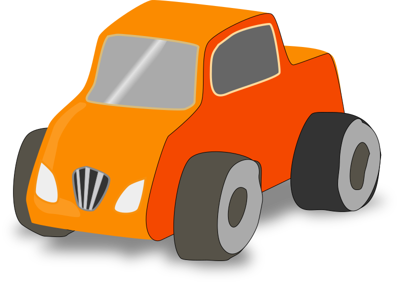 Simple Toy car truck