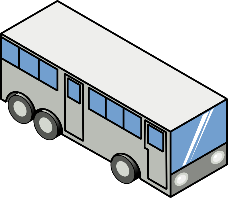 Bus (isometric icon)