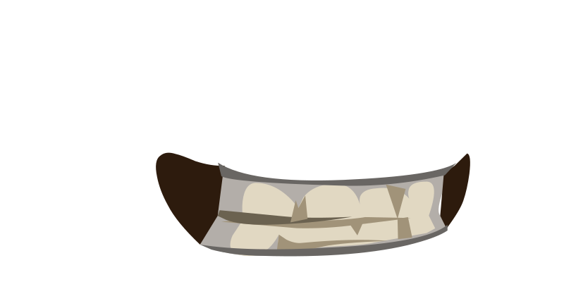 Avatar Vanity Mouth Skull