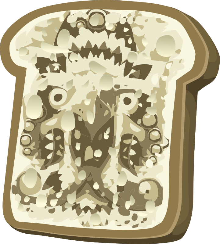 Rare Items Pareidolic Cosma Toast