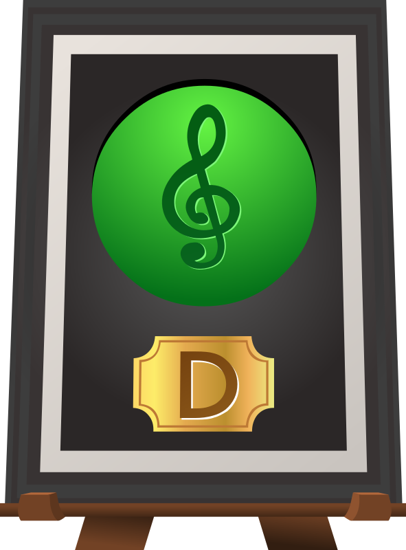 Trophy Music D Green