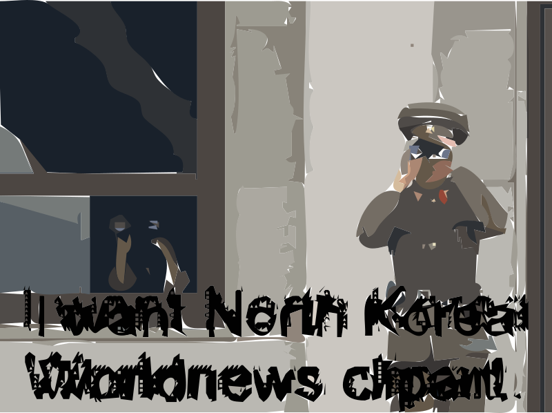 REQUEST North Korea Clipart