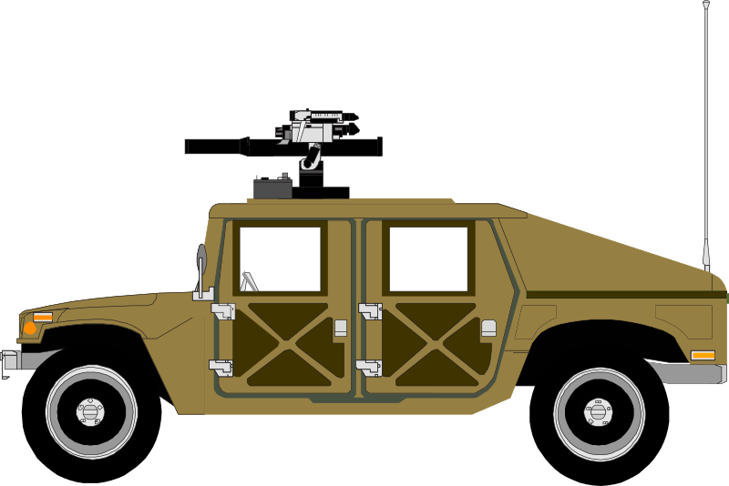 Humvee, Sand colours