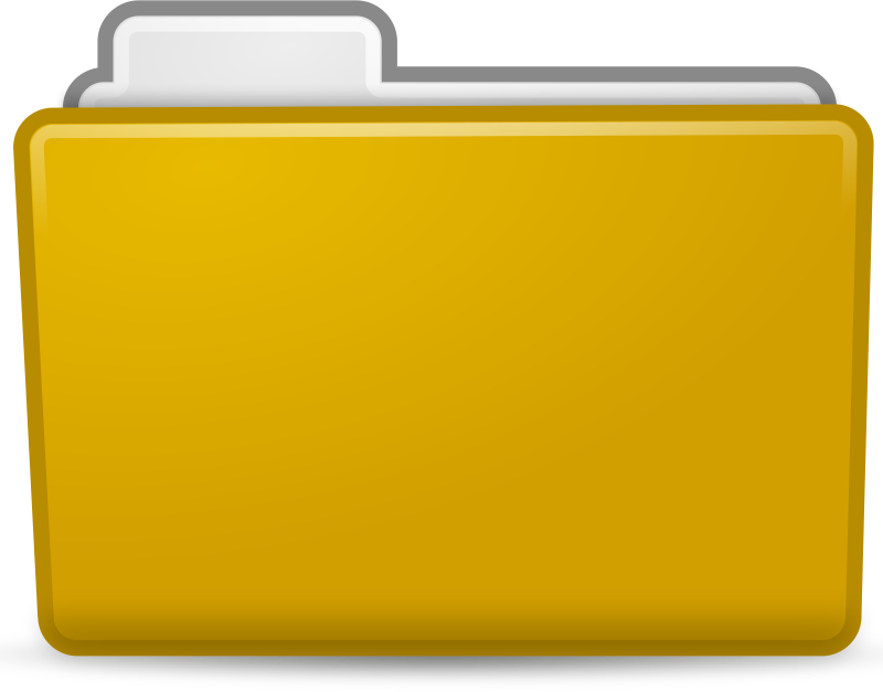 Yellow Folder Icon
