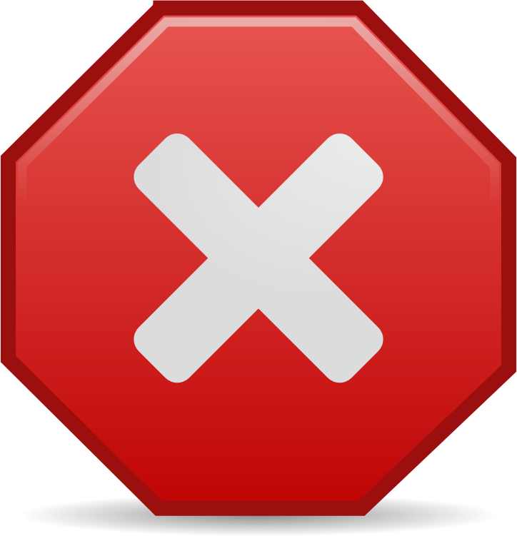 Stop Process Icon