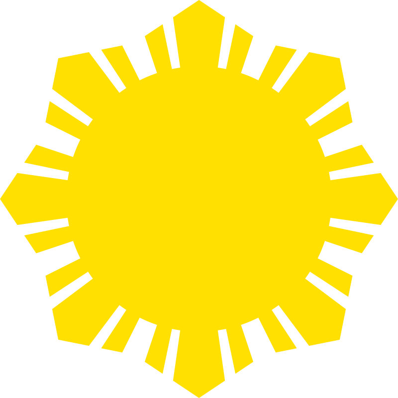 Sun Symbol Small Yellow