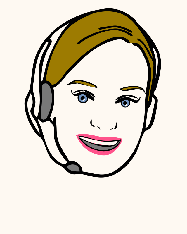 Face, Avatar, Woman, Female, Headset 1