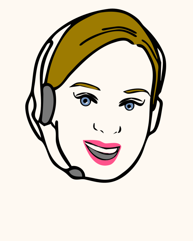 Face, Avatar, Woman, Female, Headset 2