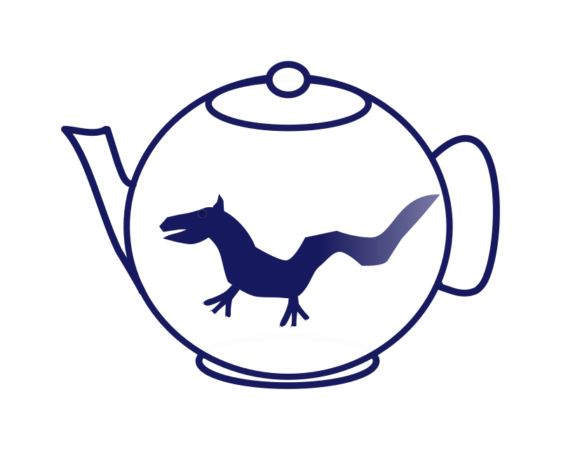 Thèière au dragon - Teapot with dragon