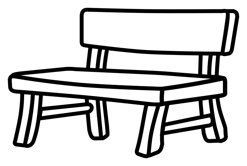 bench - lineart