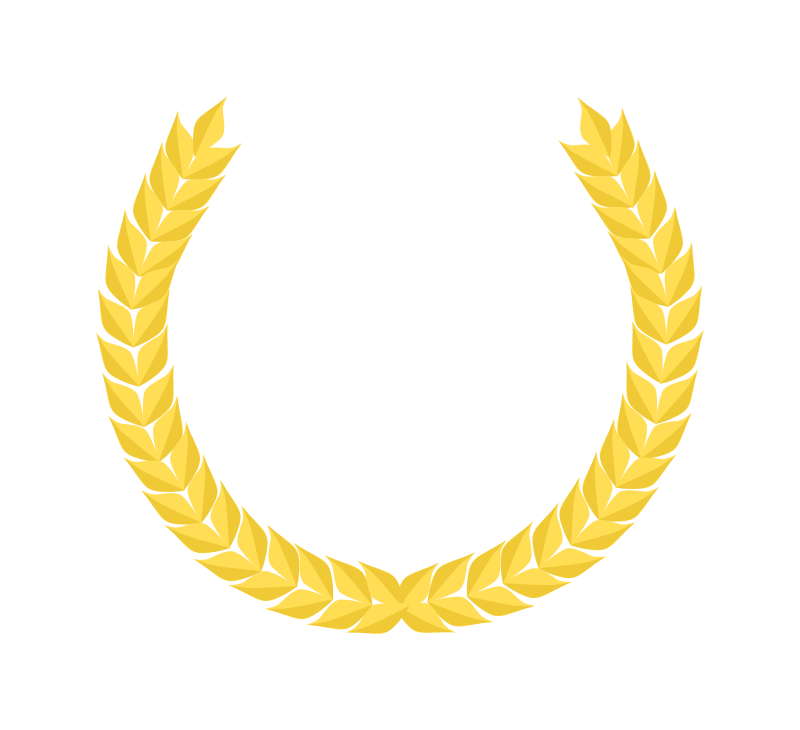 Couronne de laurier dorée - Golden Laurel Wreath
