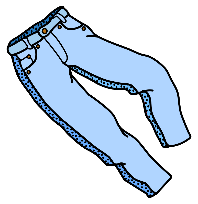 trousers - coloured