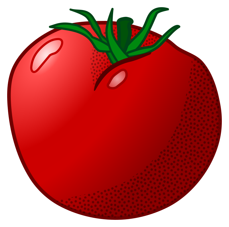 tomato - coloured
