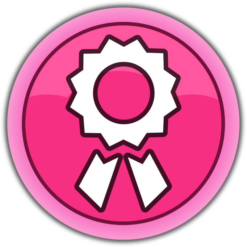 "Pink button ""Achievements"""